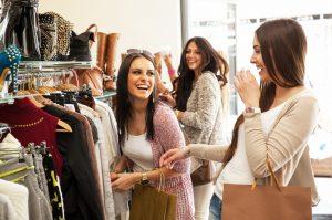 girls shopping tour on the south coast