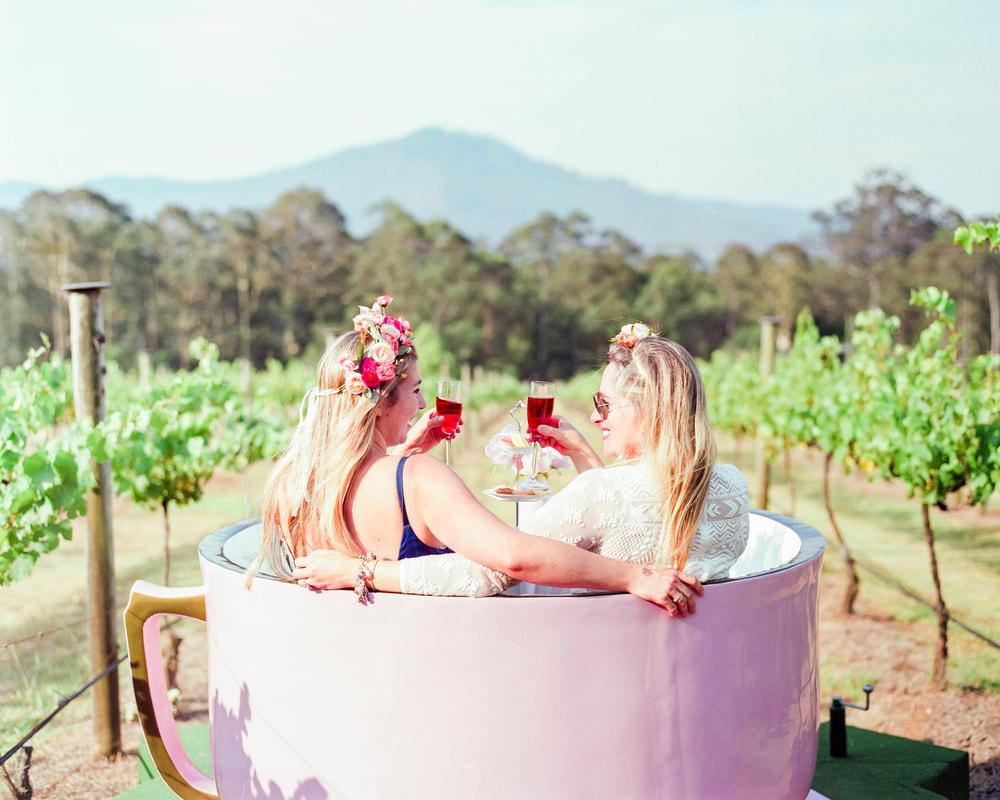 High Tea in a Giant Teacup at Cambewarra Estate